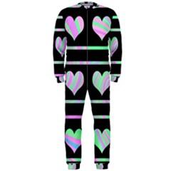 Pastel harts pattern OnePiece Jumpsuit (Men)