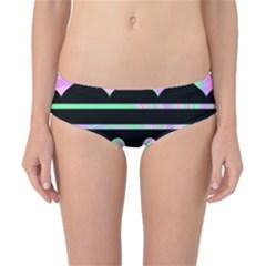 Pastel harts pattern Classic Bikini Bottoms