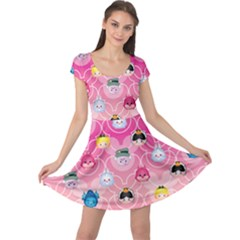 Alice In Wonderland Cap Sleeve Dresses
