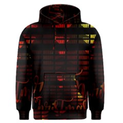 Christmas Advent Gloss Sparkle Men s Pullover Hoodie
