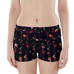 Christmas Star Advent Golden Boyleg Bikini Wrap Bottoms