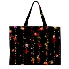 Christmas Star Advent Golden Large Tote Bag
