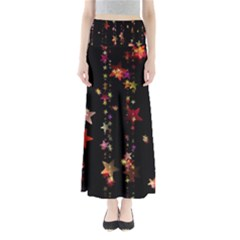 Christmas Star Advent Golden Maxi Skirts