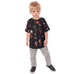 Christmas Star Advent Golden Kids  Raglan Tee