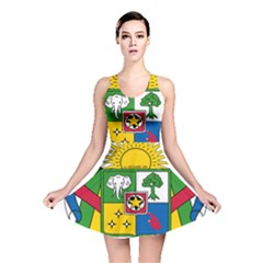 Coat of Arms of The Central African Republic Reversible Skater Dress