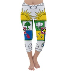 Coat of Arms of The Central African Republic Capri Winter Leggings