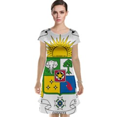 Coat of Arms of The Central African Republic Cap Sleeve Nightdress