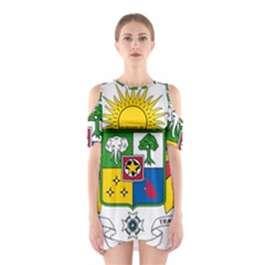 Coat of Arms of The Central African Republic Shoulder Cutout One Piece
