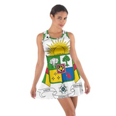 Coat of Arms of The Central African Republic Cotton Racerback Dress