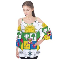 Coat of Arms of The Central African Republic Flutter Tees