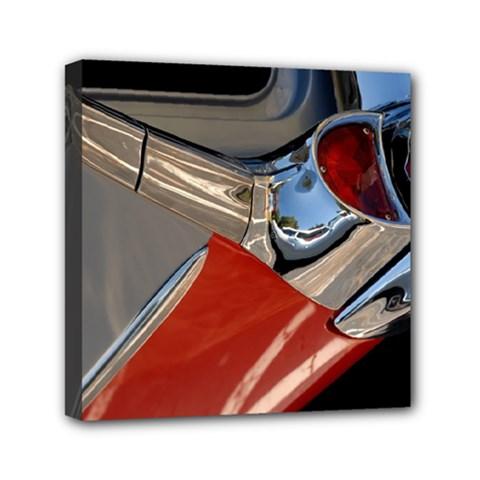 Classic Car Design Vintage Restored Mini Canvas 6  x 6