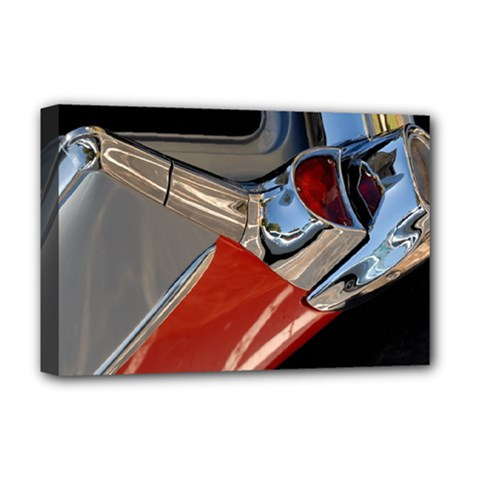 Classic Car Design Vintage Restored Deluxe Canvas 18  x 12