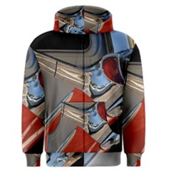 Classic Car Design Vintage Restored Men s Zipper Hoodie