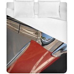 Classic Car Design Vintage Restored Duvet Cover (California King Size)