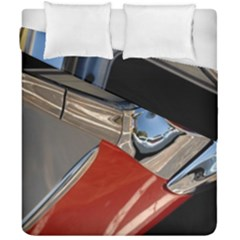 Classic Car Design Vintage Restored Duvet Cover Double Side (California King Size)