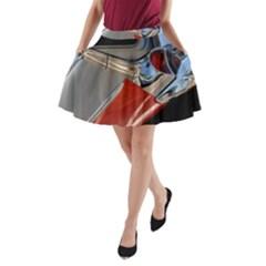 Classic Car Design Vintage Restored A-Line Pocket Skirt