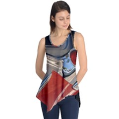 Classic Car Design Vintage Restored Sleeveless Tunic