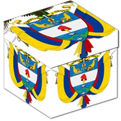Coat of Arms of Colombia Storage Stool 12
