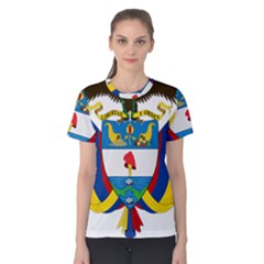 Coat of Arms of Colombia Women s Cotton Tee