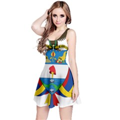Coat of Arms of Colombia Reversible Sleeveless Dress