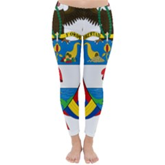 Coat of Arms of Colombia Classic Winter Leggings