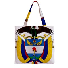 Coat of Arms of Colombia Zipper Grocery Tote Bag