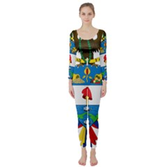 Coat of Arms of Colombia Long Sleeve Catsuit