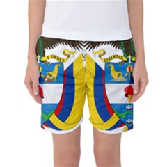 Coat of Arms of Colombia Women s Basketball Shorts