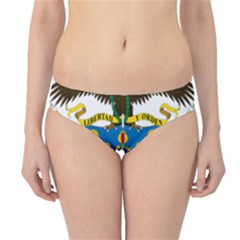 Coat of Arms of Colombia Hipster Bikini Bottoms