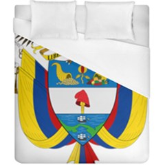 Coat of Arms of Colombia Duvet Cover (California King Size)