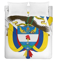 Coat of Arms of Colombia Duvet Cover Double Side (Queen Size)
