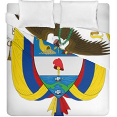 Coat of Arms of Colombia Duvet Cover Double Side (King Size)