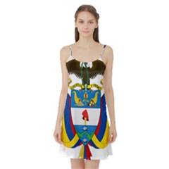 Coat of Arms of Colombia Satin Night Slip