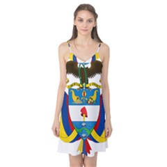 Coat of Arms of Colombia Camis Nightgown