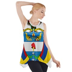 Coat of Arms of Colombia Side Drop Tank Tunic