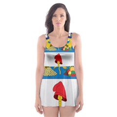 Coat of Arms of Colombia Skater Dress Swimsuit