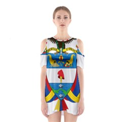 Coat of Arms of Colombia Shoulder Cutout One Piece