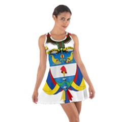 Coat of Arms of Colombia Cotton Racerback Dress
