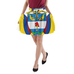 Coat of Arms of Colombia A-Line Pocket Skirt