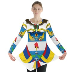 Coat of Arms of Colombia Long Sleeve Tunic
