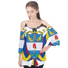 Coat of Arms of Colombia Flutter Tees