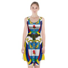 Coat of Arms of Colombia Racerback Midi Dress