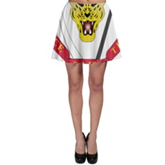 Coat of Arms of The Democratic Republic of The Congo Skater Skirt