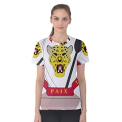 Coat of Arms of The Democratic Republic of The Congo Women s Cotton Tee
