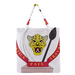Coat of Arms of The Democratic Republic of The Congo Grocery Tote Bag