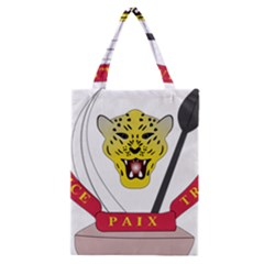 Coat of Arms of The Democratic Republic of The Congo Classic Tote Bag