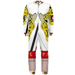 Coat of Arms of The Democratic Republic of The Congo OnePiece Jumpsuit (Men)