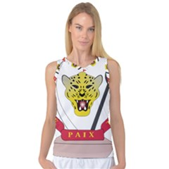 Coat of Arms of The Democratic Republic of The Congo Women s Basketball Tank Top
