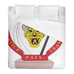 Coat of Arms of The Democratic Republic of The Congo Duvet Cover (Full/ Double Size)