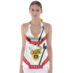 Coat of Arms of The Democratic Republic of The Congo Babydoll Tankini Top